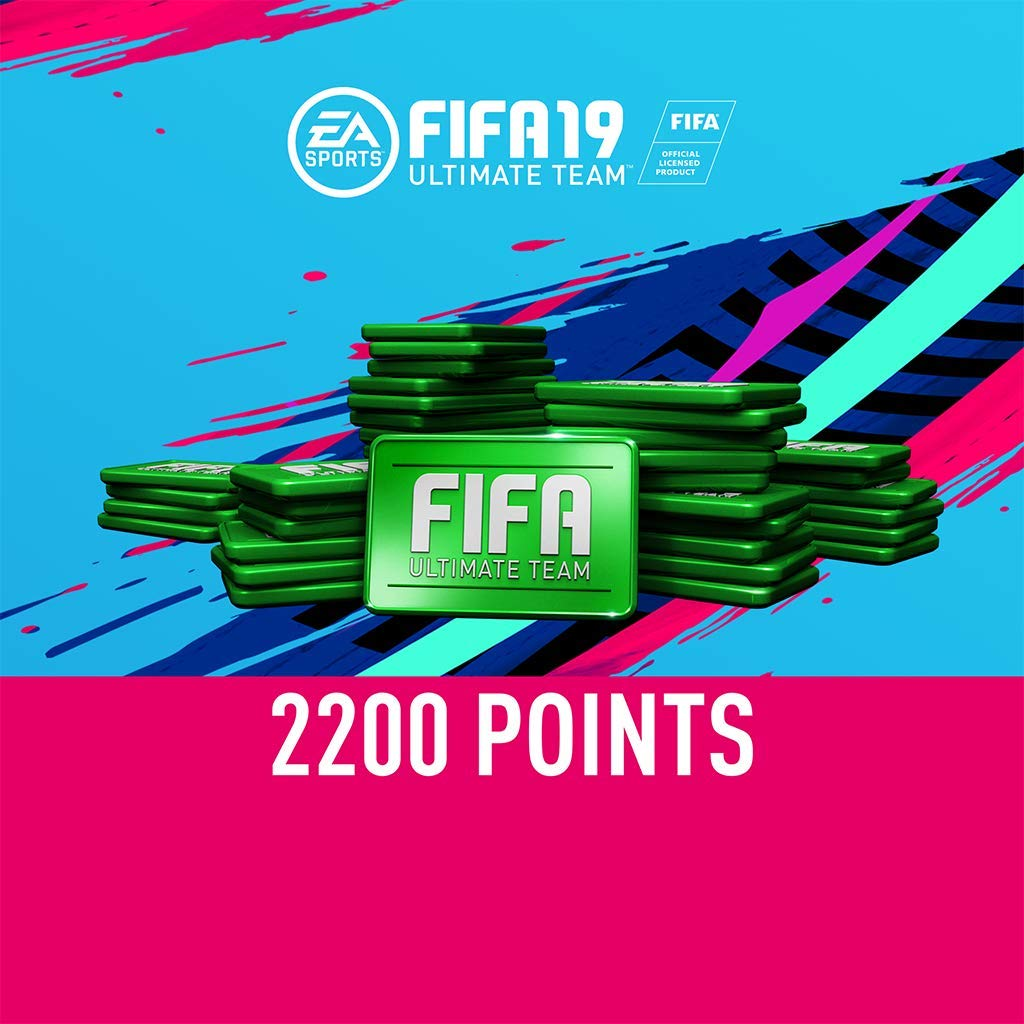 FIFA 19: 2200 FIFA Points - PS4 [Digital Code] by Electronic Arts