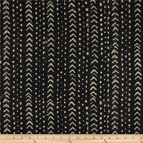P Kaufmann Angola Mudcloth Basketweave Fabric, Peppercorn, Fabric By The Yard