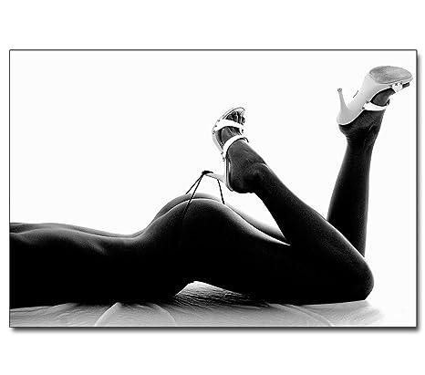 frau nackt in high heels