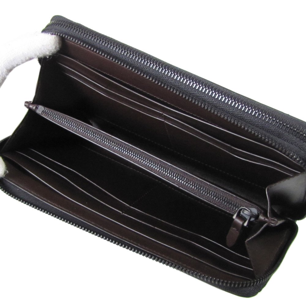 efd8631af9b9 Amazon.co.jp: ダンヒル 財布 メンズ シャーシ ダブルジップ トラベルコンパニオン ブラック L2A245A [並行輸入品]:  服&ファッション小物