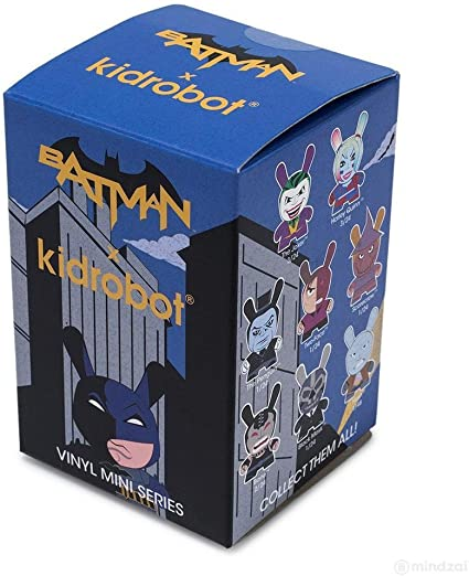 ONE BLIND BOX DC DUNNY SERIES MINI VINYL TOY FIGURE BY KIDROBOT X BATMAN