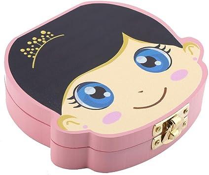 Caja de dientes de leche, Apariencia para niño y niña Caja de ...