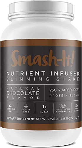 Primal Labs Smash-It Nutrient Infused, Chocolate Whey Protein Powder