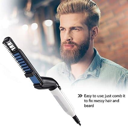 Como planchar el pelo rizado hombres