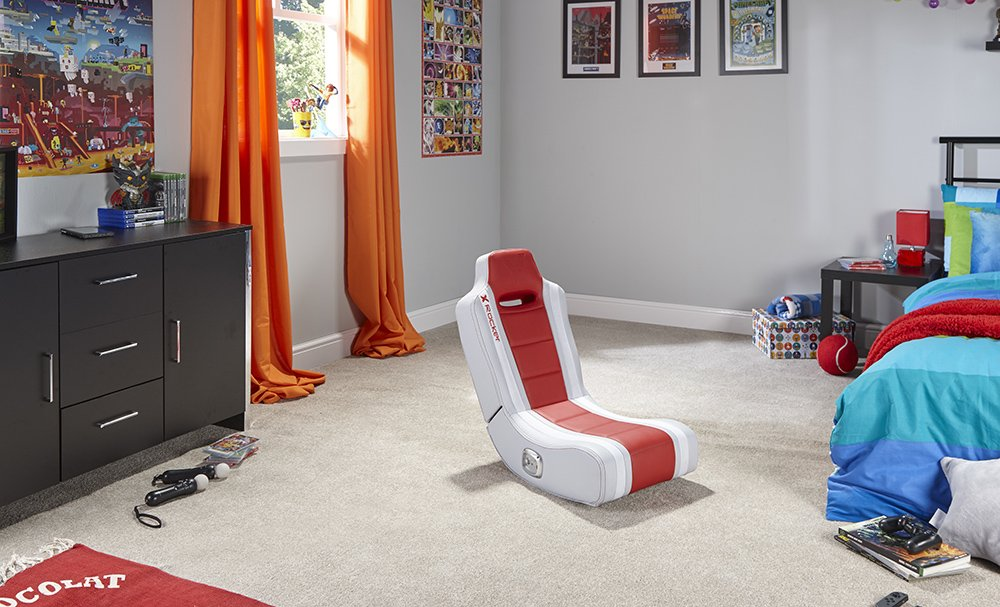 Edizione: Regno Unito X Rocker Banshee 2.0 Floor Rocker Gaming Chair