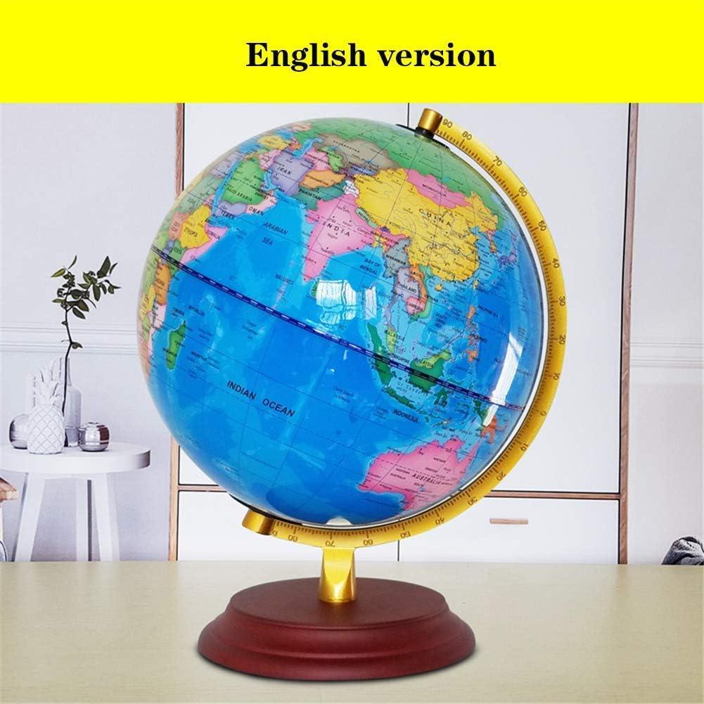 Nfudishpu Interactive World Globe para niños - 9.8 Pulgadas Globe ...
