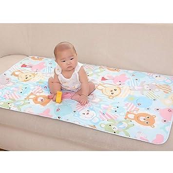 Amazon.com: Cambiador de 3 capas para bebé, impermeable ...