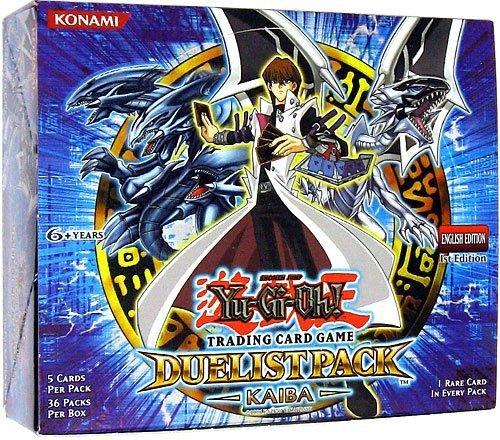 YuGiOh Kaiba Duelist Booster Box 36 Packs by Komami (English Manual)