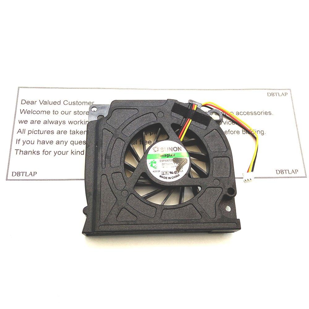 dbtlap Laptop ventilador de la CPU para Dell Inspiron 1525 Latitude D630 0 C169 M gb0508pgv1-a: Amazon.es: Informática