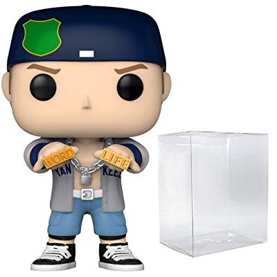 Funko POP!: WWE - John Cena - Dr. of Thuganomics - Shipped in Pop Protector: Toys & Games