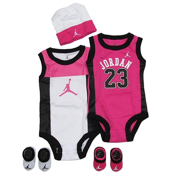 b189c59f0 Jordan Baby Set by Nike perímetro para niños y niñas rosa
