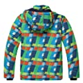 PHIBEE Big Boys' Outdoor Waterproof Fleece Warm Snowboard Ski Jacket
