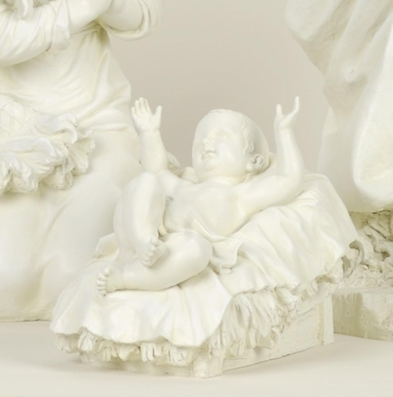 Roman 13'' Joseph's Studio Baby Jesus Outdoor Christmas Nativity Statue
