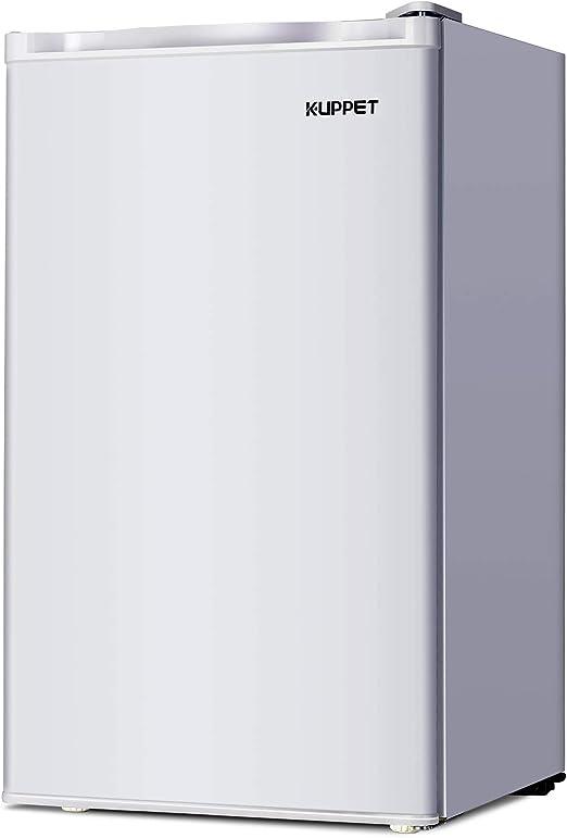 KUPPET -Mini Frigorífico, de 3.2 pies cúbicos Refrigerador ...