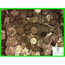 SILVER U.S. COINS CHEAPEST WHOLESALE VINTAGE RARE US COINS LOT Guaranteed To include FULL 1 OUNCE PRE 1964 US Silver COIN LOTS 1 oz OUNCE 90% SILVER U.S. COINS Barber Dimes, Barber Halves, Mercury Dimes, Morgan Dollars, Standing Liberty Quarters, Roosevelt Dimes (Many BU's), Washington Quarters, Peace Dollars, 3 Cent silver Pieces, Walking Liberty Halves, Barber Quarters, Franklin Halves, Kennedy Halves, Seated dimes quarters and halves, Bust dimes and halves, Trade Dollars