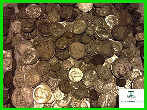 Bust Silver Dime (1 OUNCE 90% SILVER BEST 90% SILVER GRAB BAG COIN LOT Brilliant Uncirculated Silver Coin in your lot , One Silver Half Dollar , Coin Made During the Great Depression , Walking Liberty Halves, Barber Quarters, Franklin Halves, Kenned ,Halves, Seated dimes quarters and halves, Bust dimes and halves ,Trade Dollars , Barber Dimes, Barber Halves, Mercury Dimes, Morgan Dollars, Standing Liberty Quarters, Roosevelt Dimes)