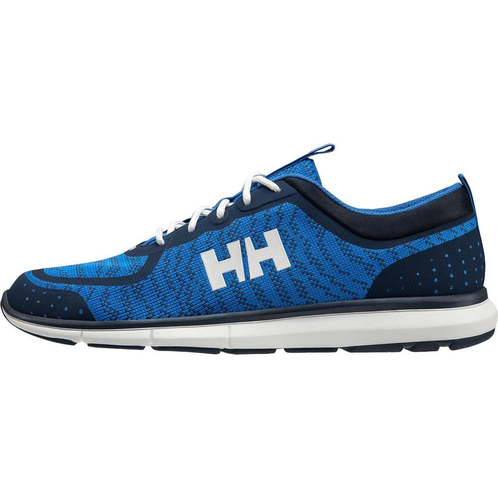 Helly Hansen 2018 Men's HP Shoreline F-1 Boating Shoe - Blue Water/Navy/Evening Blue - 11307_503 (Blue Water/Navy/Evening Blue - EU 45/US 11)
