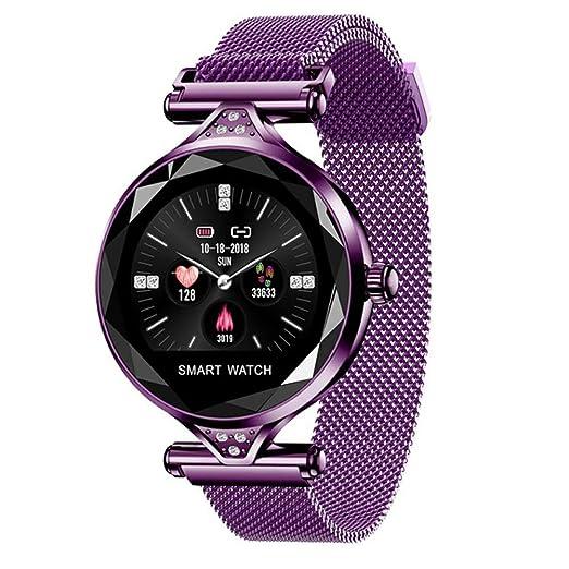 VIWIV Moda Señora Reloj Elegante Bluetooth Impermeable ...