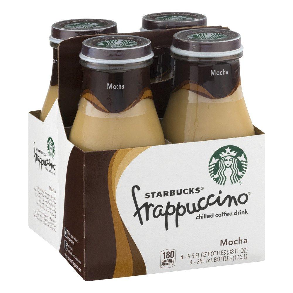 Starbucks Coffee Frappuccino Variety Pack! Mocha Light, Coffee, Chilled Mocha, 9.5 oz Glass Bottles (Pack of 3, Total of 12 Glass Bottles) by Starbucks Coffee Frappuccino (Image #5)