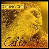 Pirastro Evah Pirazzi Gold 4/4 Cello String Set - Medium Gauge