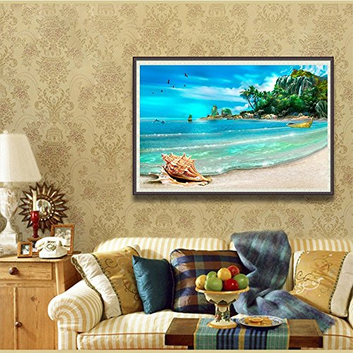 Compare Price To Wall Painting Kit: Fipart DIY Diamond Painting Cross Stitch Craft Kit. Wall