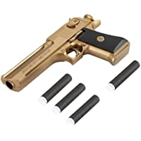 Yuanzu Toy Gun, Rubber Bullet Pistol Childen's toys gun - Gold