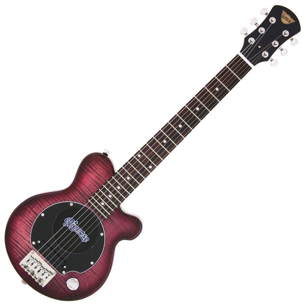 Pignose ピグノーズ エレキギター フレイムメイプルTOP ソフトケース付属 PGG-200FM B00LSNQPD4 シースルーパープル
