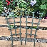 Olpchee 6Pcs Plastic Mini DIY Garden Trellis