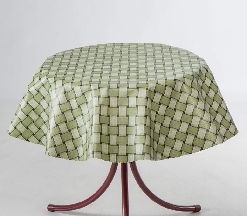 EHT Mantel de Hule para Mesa de jardín, Redondo, Rectangular ...