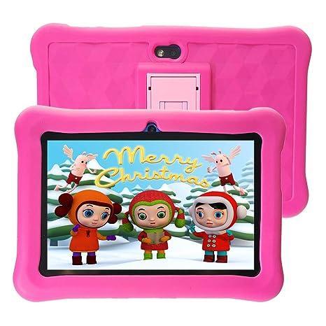 Tablet para Niños 7 Pulgadas WiFi 2GB de RAM 32GB ROM Tablet Infantil Android 6.0 Quad Core HD 1280x800 Doble Cámara y Google Play de Juegos ...