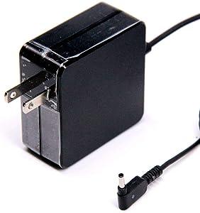 19V 3.42A 65W replaement Charger Power Adapter Compatible with Asus Vivobook Charger S410 S410NA S410UN S510 S510U S510UA S510UQ UX310UQ UX410UQ UX430U UX430UQ