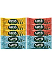 Adonis Low Sugar Nut Bar - Assortiment de Barres aux Noix | 100% Naturelle, Faible teneur en Sucre et Glucides, Sans Gluten, Vegan, Keto, Paleo, Superfood