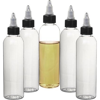 Twist Vape botella plástico botella de aceite botella de Twist aguja de acero botellas cuentagotas Squeezable