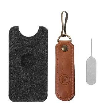 Kcnsieou Soporte para Tarjeta SIM con Pin de expulsión SD TF ...