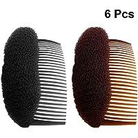 Frcolor kvinnor hårstyler BUMP IT UP volym lägga in bivå hår stylare skum hårkam, 6 st.