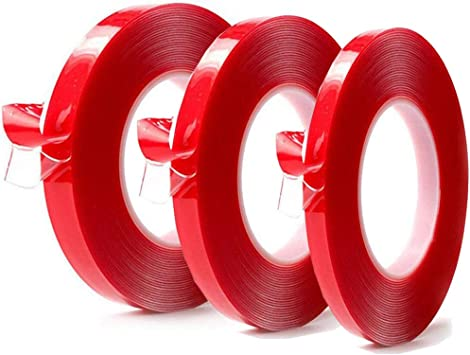 5mm x25M Clear Double Sided Strong Adhesive Acrylic Tape Phone LCD Screen Rep...