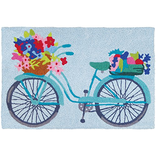 Jellybean Flower Basket On Bicycle Garden Indoor/Outdoor Mac