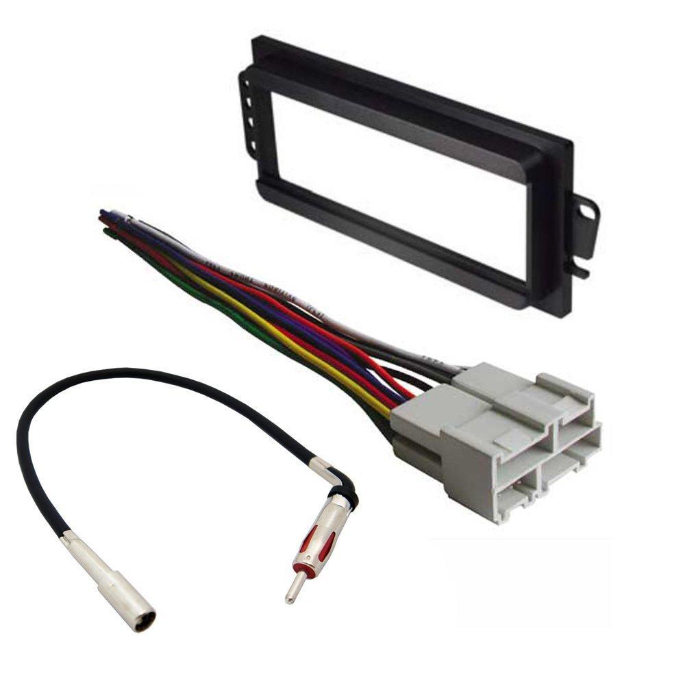 Car Stereo Radio Wiring Harness Oldsmobile 1858 Wire Adapter Plug Amazoncom Pontiac 1994 2003 Grand Prix Kit Dash