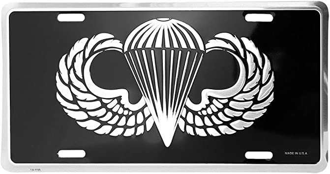 Honor Country Infantry License Plate Mitchell Proffitt
