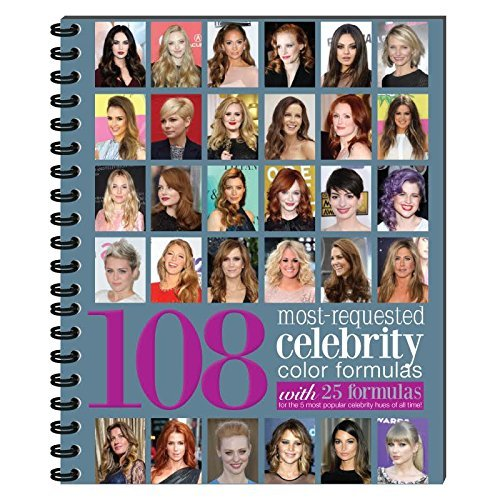 Price comparison product image 108 Most-Requested Celebrity Color Formulas!- Including Beth Minardi,  Goldwell,  Wella,  Kenra,  etc.