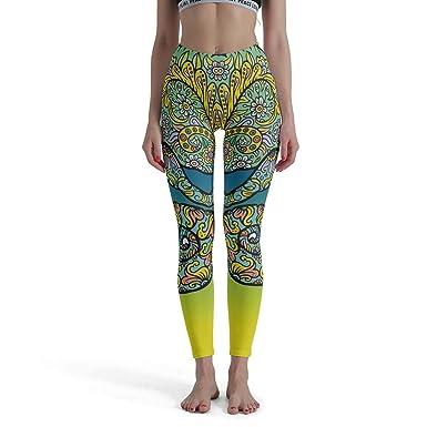 Zhcon - Mallas de Yoga para Mujer, diseño de Lagarto Blanco ...