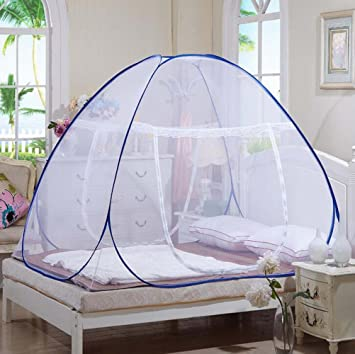 Bekith Portable Folding Pop Up Mosquito Net for Bed Guard Tent Anti Mosquito Bites for Babies & Amazon.com : Bekith Portable Folding Pop Up Mosquito Net for Bed ...