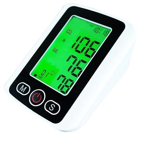 D & F medidor de presión de brazo Tensiómetro pantalla LCD a pantalla 3 colores pantalla