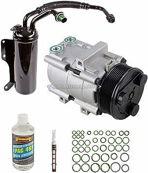 BuyAutoParts 60-82009RK New For Ford E-250 Econoline /& E-350 Super Duty AC Compressor w//A//C Repair Kit