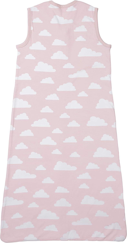 Meyco 512093 Gigoteuse d/ét/é Motif nuages Rose 110 cm