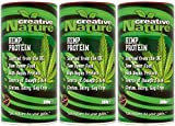 (3 PACK) - Creative Nature - British Hemp Protein Powder | 300g | 3 PACK BUNDLE by Creative Nature