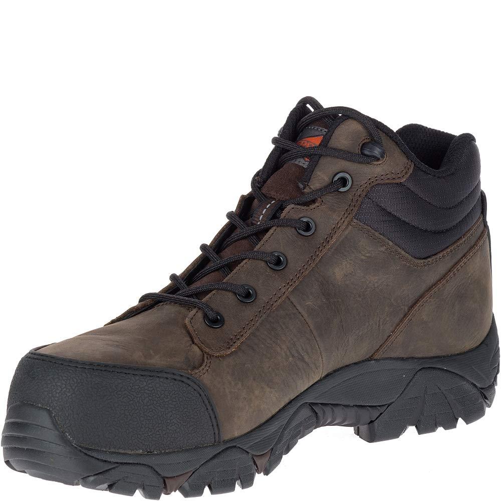 c0ca1f77081 Merrell Moab Rover Mid Waterproof Comp Toe Work Boot Men's