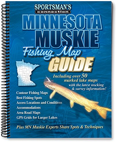 Minnesota Muskie Fishing Map Guide (Sportsman's Connection)