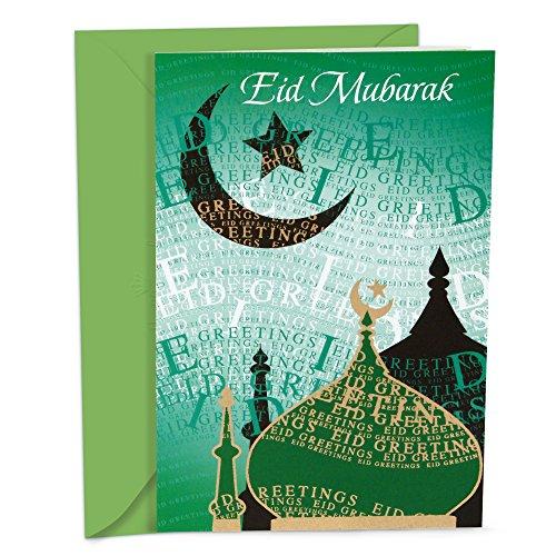 Hallmark Eid al-Fitr or Eid Al-Adha Card (Eid Mubarak)