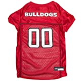 Pets First NCAA GEORGIA BULLDOGS DOG Jersey, XX-Large